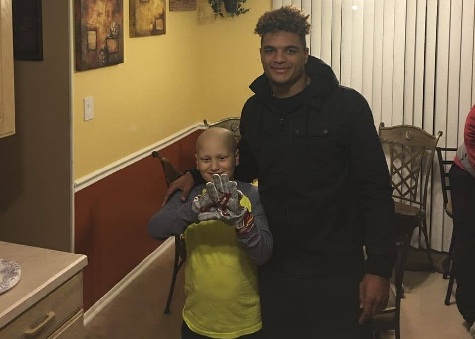 Alabama's Minkah Fitzpatrick Has Built Friendship with Young Boy Battling Cancer